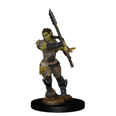 WZK 72614 - Half-Orc Female Barbarian