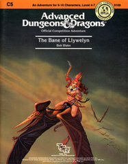 AD&D C5 - The Bane of Llywelyn 9109
