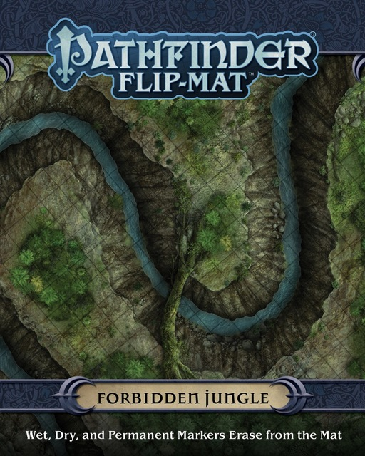 Pathfinder Flip-Mat - Forbidden Jungle