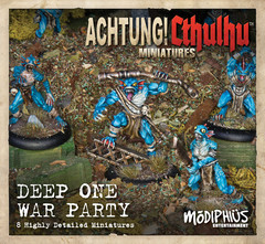 Achtung! Cthulhu - Deep One War Party Unit Pack