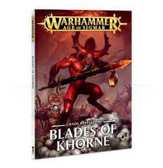 Chaos Battletome - Blades of Khorne