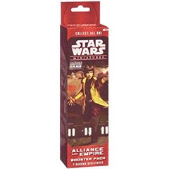 Star Wars Miniatures Alliance And Empire Booster Pack