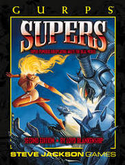 GURPS 2E Supers