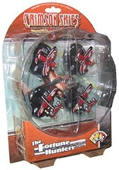 Crimson Skies Fortune Hunters Squadron Pack
