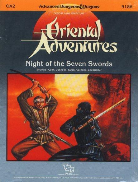 AD&D OA2 - Night of the Seven Swords 9186