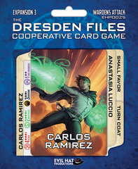 Dresden Files - Cooperative Card Game - Expansion 3 - Wardens Attack