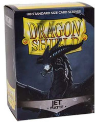 Dragon Shield Box 100 Matte Jet