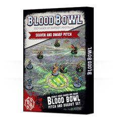 Blood Bowl - Double sided Skaven and Dwarf Pitch