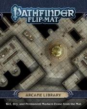 Pathfinder Flip-Mat - Arcane Library
