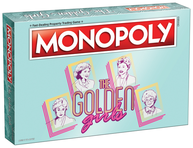 monopoly the golden girls board card games family 8 the