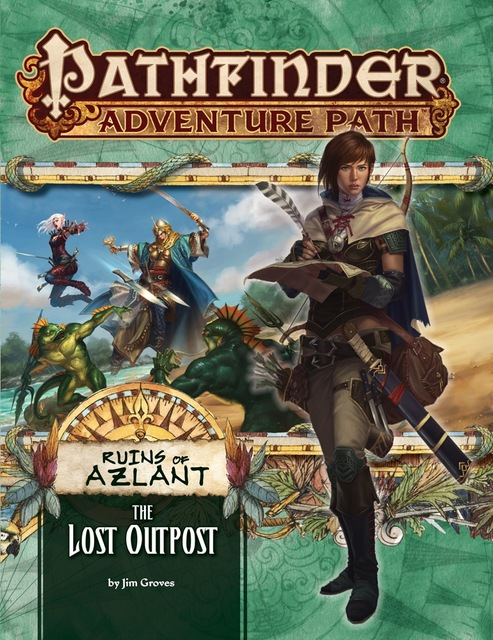 Pathfinder Adventure Path 121: The Ruins of Azlant Chapter 1