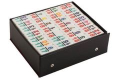 Dominoes - Numerical Deluxe Double 15 (136 even dots)