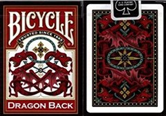 Bicycle Playing Cards - Gold Dragon Back
