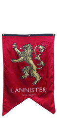 Game of Thrones - Lannister Banner
