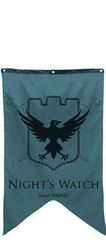 Game of Thrones - Night's Watch Banner
