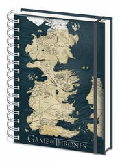 Game of Thrones - Map Notebook