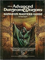AD&D Dungeon Masters Guide by Gary Gygax (TSR,1983) 2011 HC