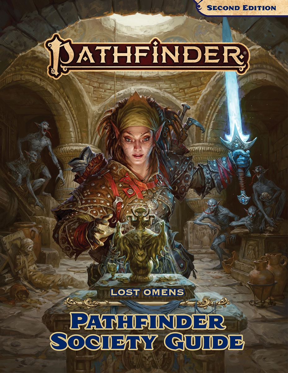 Pathfinder 2E - Lost Omens Pathfinder Society Guide