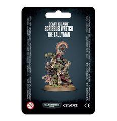 Death Guard - Scribbus Wretch The Tallyman