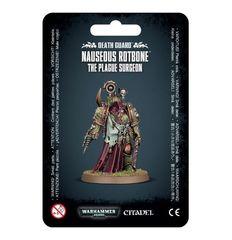 Death Guard - Nauseous Rotbone The Plague Surgeon