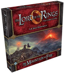 The Lord of the Rings LCG: The Mountain Of Fire Saga Expansion