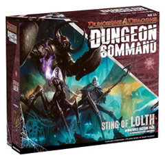 Dungeons & Dragons Dungeon Command Sting of Lolth Faction Pack