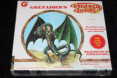 Grenadier Fantasy Lords Dragons of Emerald Idol Metal Figures Set 6001 Sealed