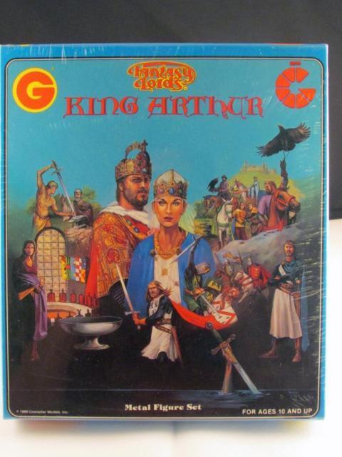 Grenadier Fantasy Lords King Arthur Box Set