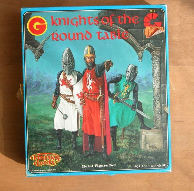 Grenadier Fantasy Lords Knights of the Round Table Metal Figures Set #6011 Sealed