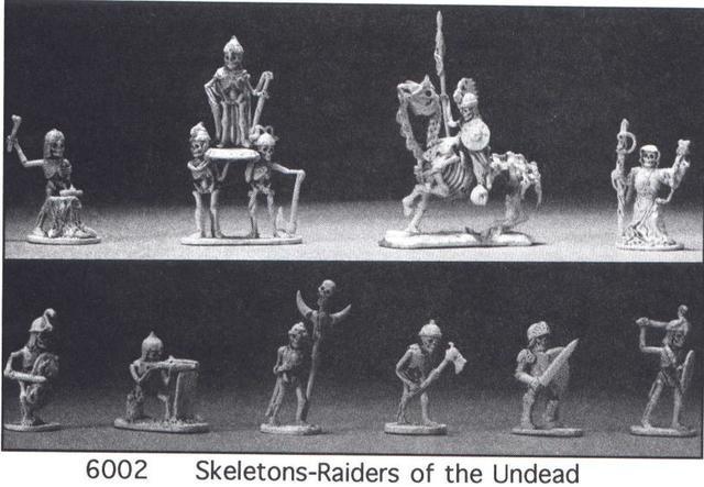 Grenadier Fanasty Lords Skeletons Boxed Set