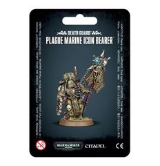 Death Guard - Plague Marine Icon Bearer