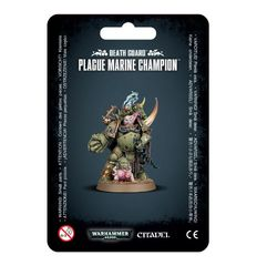 Death Guard - Plague Marine Champion