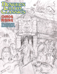 DCC #89 Chaos Rising - Sketch Cover