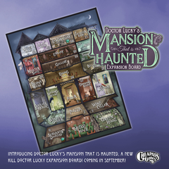 Doctor Luck's Mansion that is Haunted Expansion Board