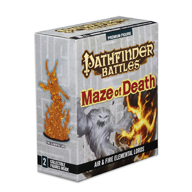 Pathfinder Battles - Maze of Death - Air & Fire Elemental Lords