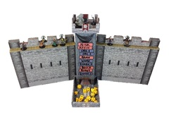 Castle Dice Tower and DM Screen