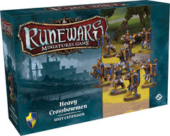 Runewars The Miniatures Game: Heavy Crossbowmen Unit Expansion