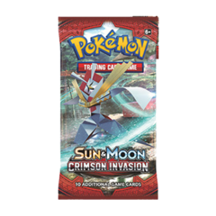 Pokemon TCG: Sun and Moon Crimson Invasion Single Booster Pack
