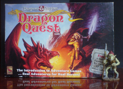 Dungeons & Dragons Dragon Quest Game Box w/Ral Partha Figures