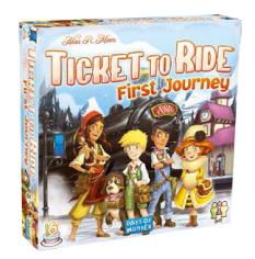 DO7227 - Ticket to Ride: First Journey - Europe