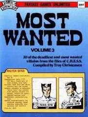 Villains and Vigilantes - Most Wanted Volume 3 2017