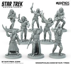 Star Trek Adventures Miniatures - Klingon Warband