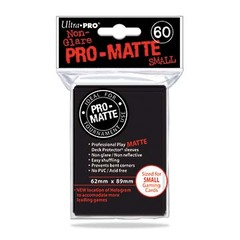 Ultra Pro - Matte Small Sleeves Black 60 Ct.