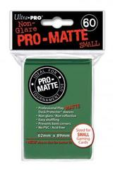 Ultra Pro - Matte Small Sleeves Green 60 Ct.