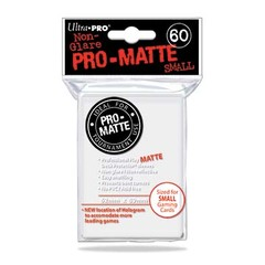 Ultra Pro - Matte Small Sleeves White 60 Ct.