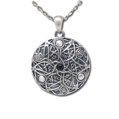 J216 - Celtic Round Necklace