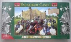 Excaliber Castle 100 Years War Model Kit 1/72 Scale 25mm
