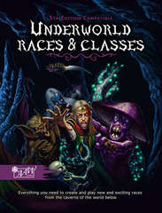 5E - Underworld Races & Classes