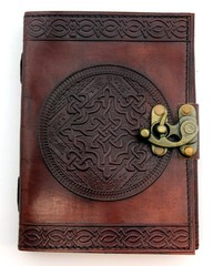 Celtic Knot Leather Embossed Journal 2720