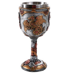 11559 - Steampunk Dragon Goblet